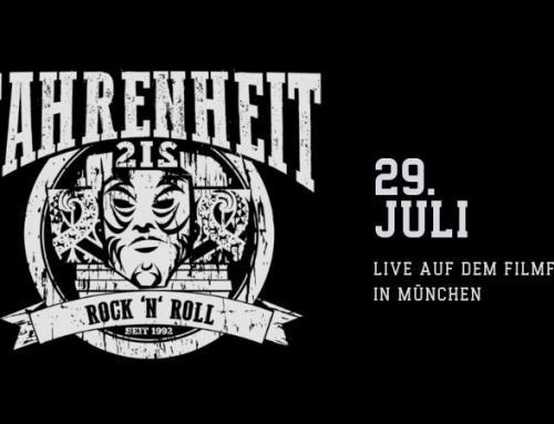 Fahrenheit 212 live auf dem Filmfest in München